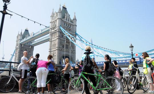 Londen_Fietsen