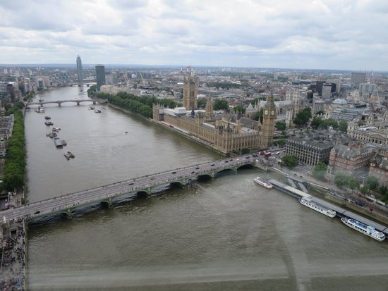 Londen_london_eye_view