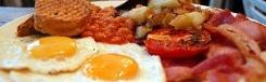Ontbijten en lunchen in Londen
