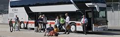 Met de bus naar Londen